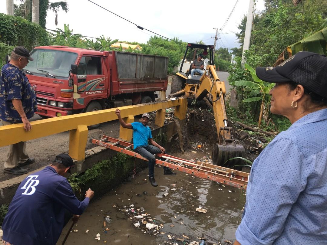 Limpieza de Puente de Negrito Carpio
