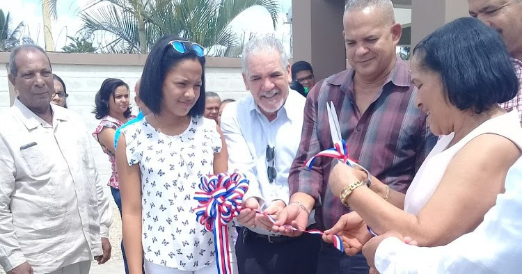 Inauguración Casa Club de La Guama